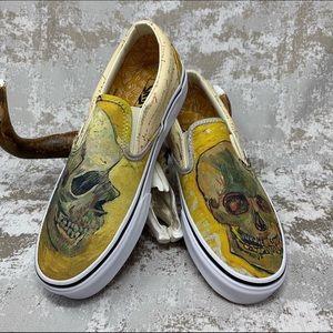 Van Gogh Vans New w Box LTD Ed Authentic 9.5W / 8M